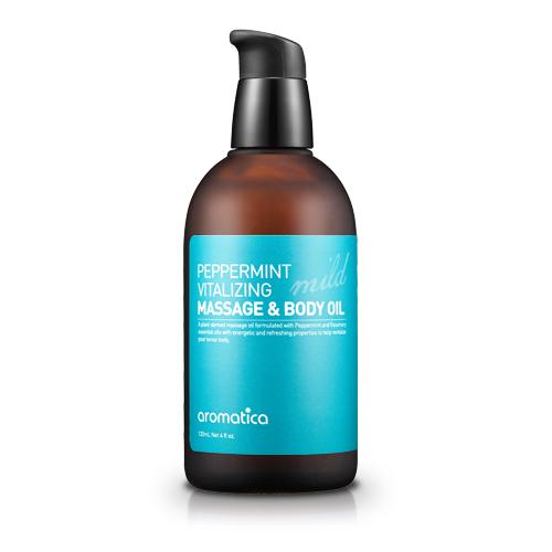 peppermint vitalizing masage body oil mild